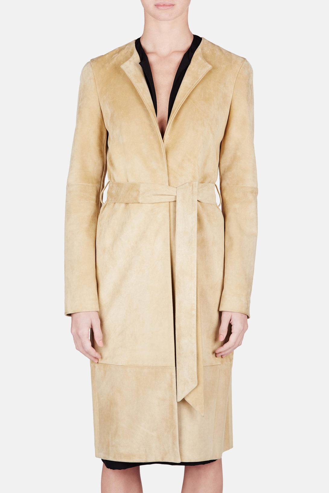 Jacket 13 Seamed Trench - Camel