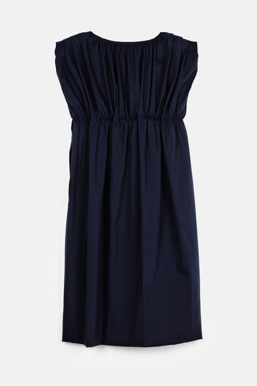 Balloon Dress -  Navy