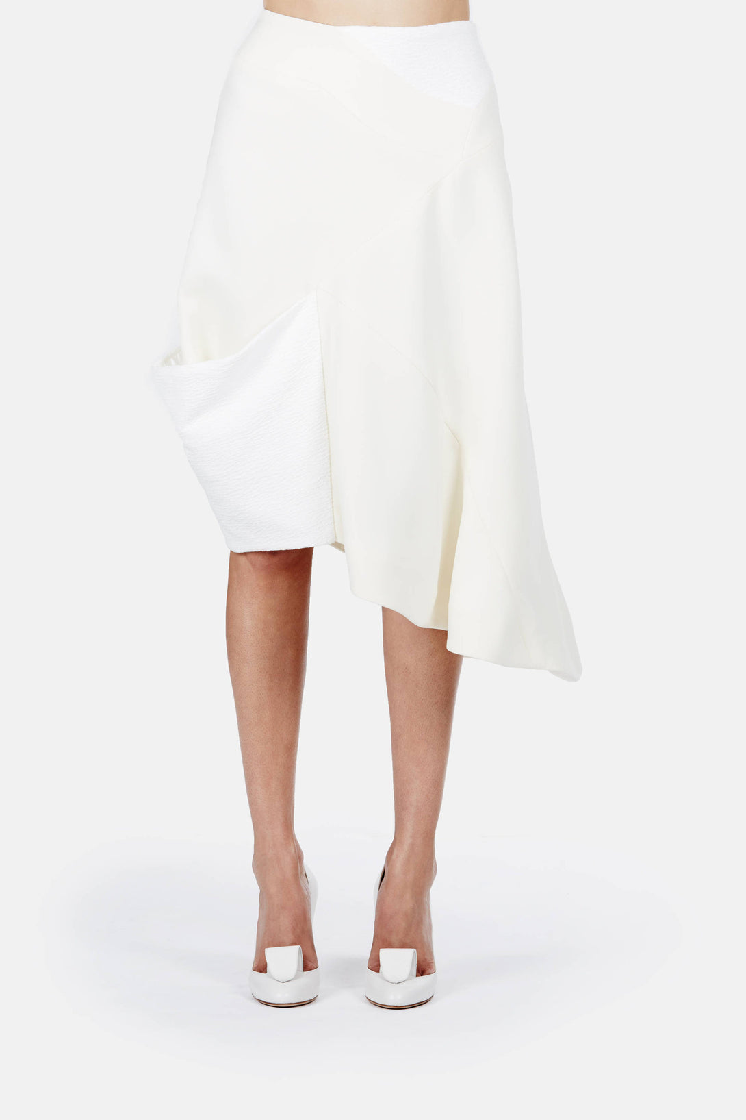 Wrap Skirt with Cuff