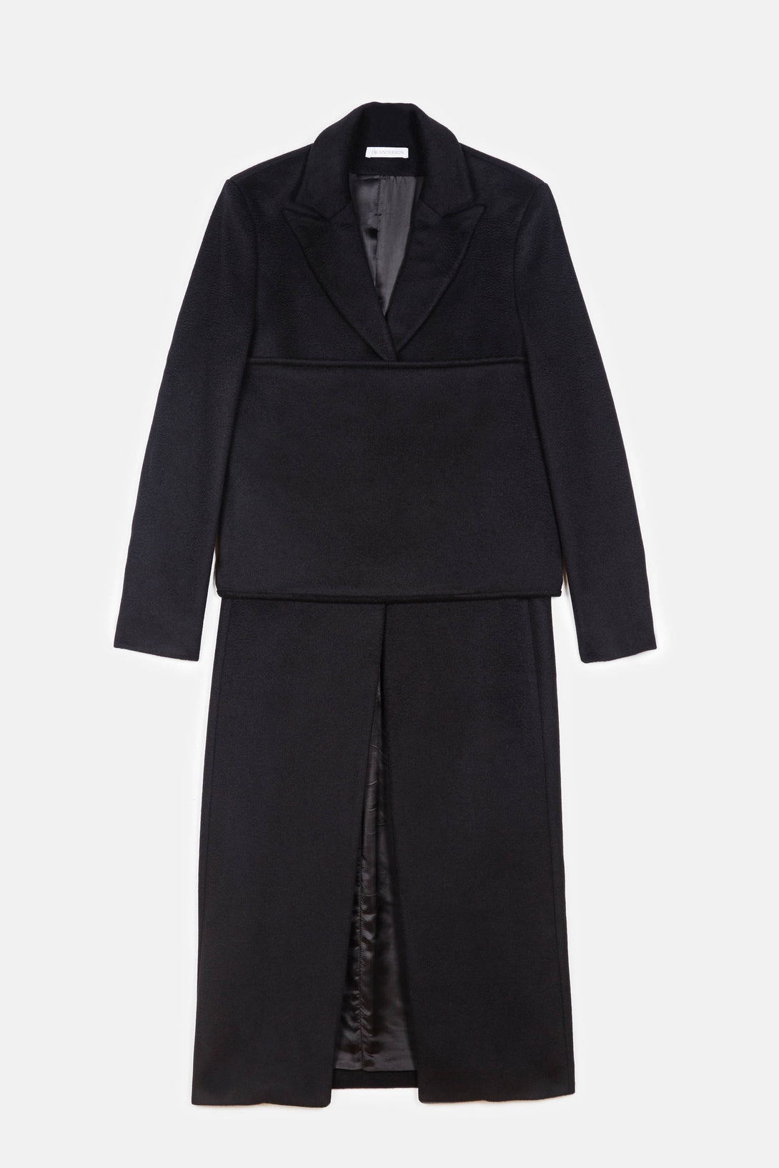 Banded Coat - Black