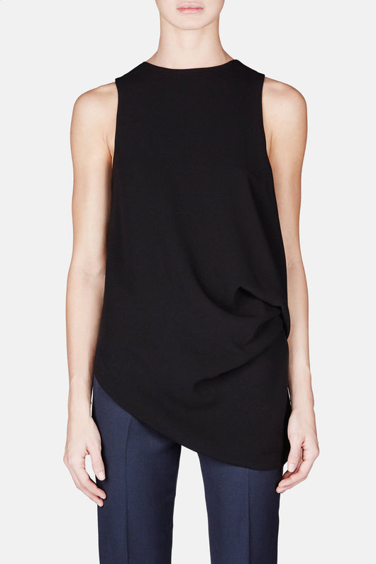 Side Tuck Top - Black
