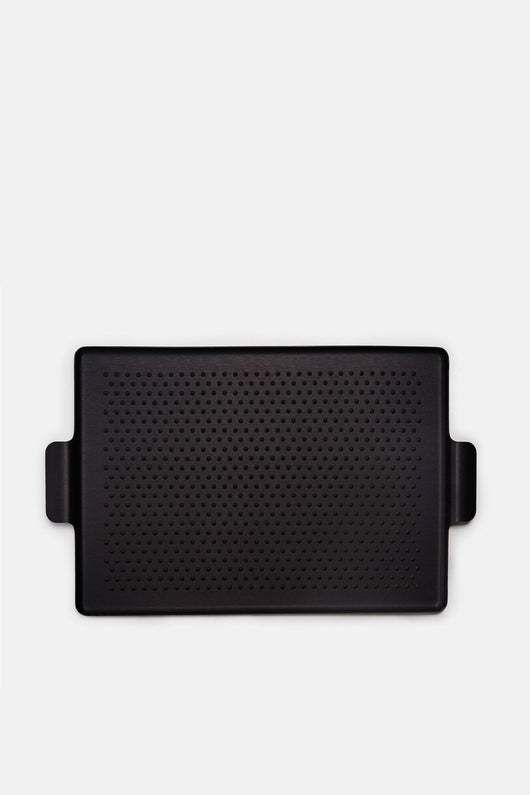 Large Rubber Grip Tray - Black