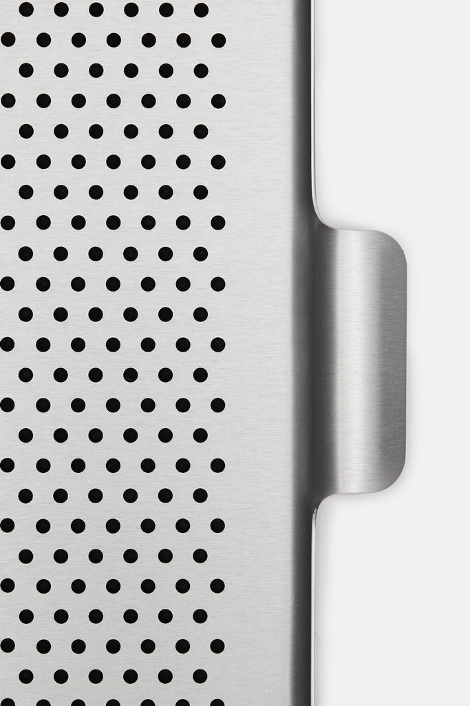 Large Rubber Grip Tray Silver The Line