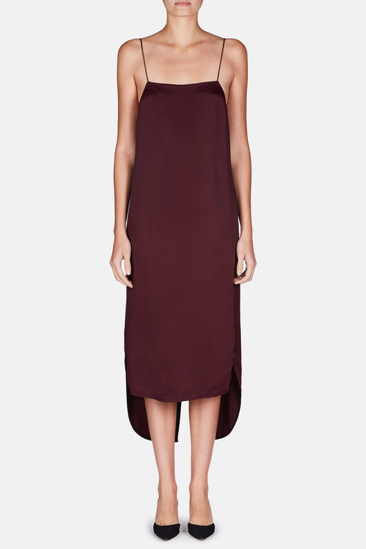 Stella Dress - Burgundy