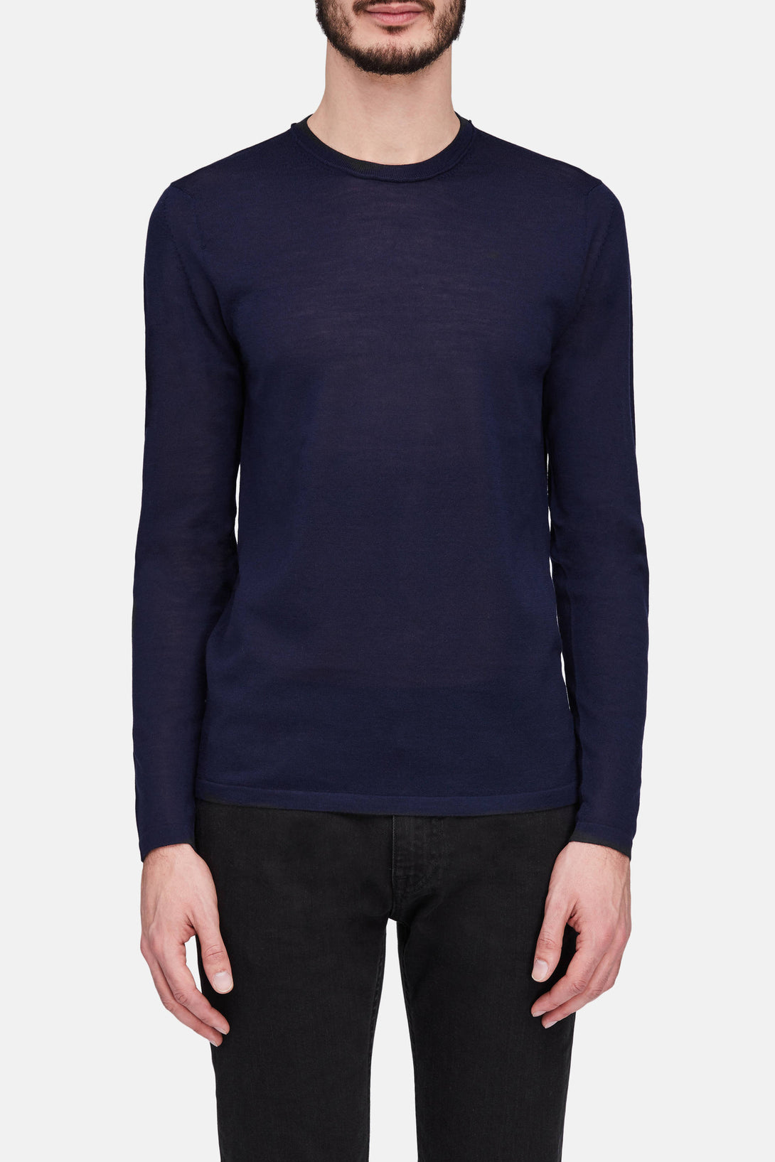 Kort Sweater - Navy