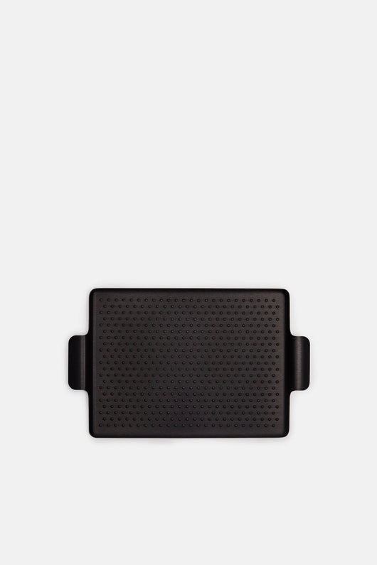 Small Rubber Grip Tray - Black