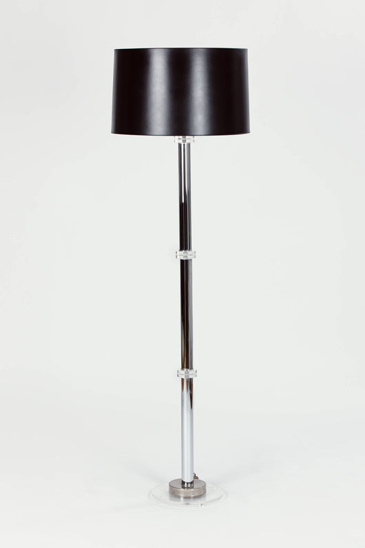 Grand Lucite Floor Lamp