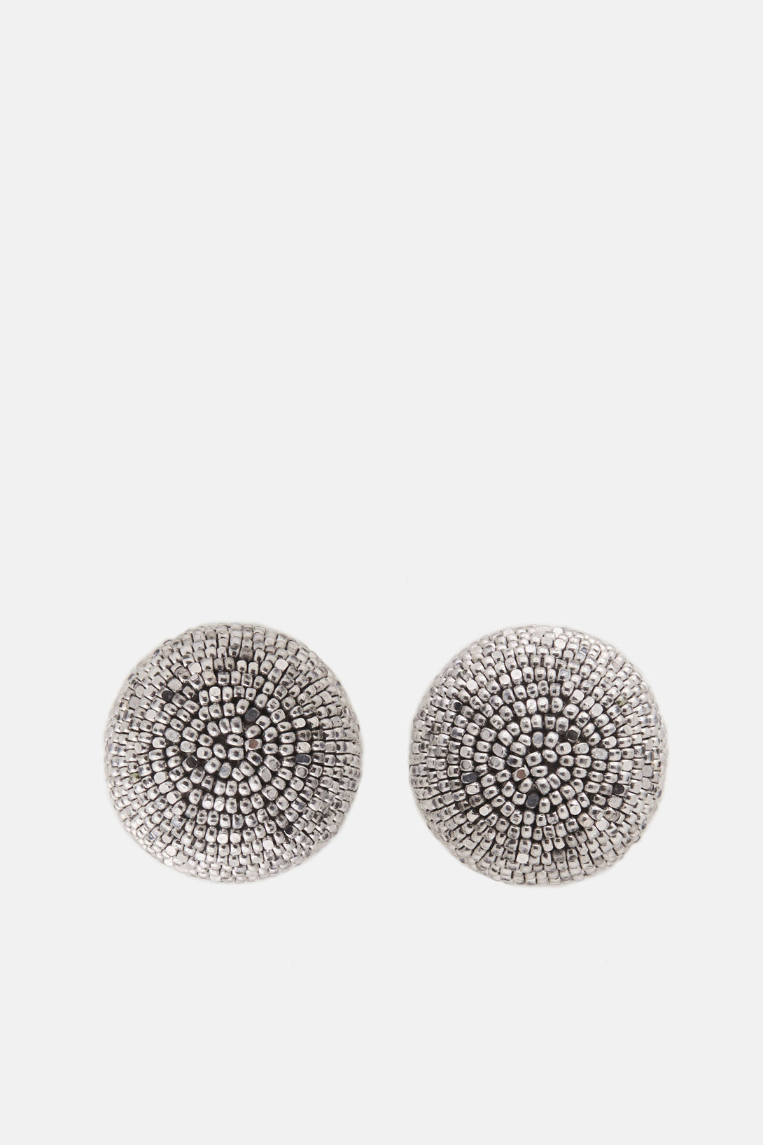 One-Ball Earrings - Silver