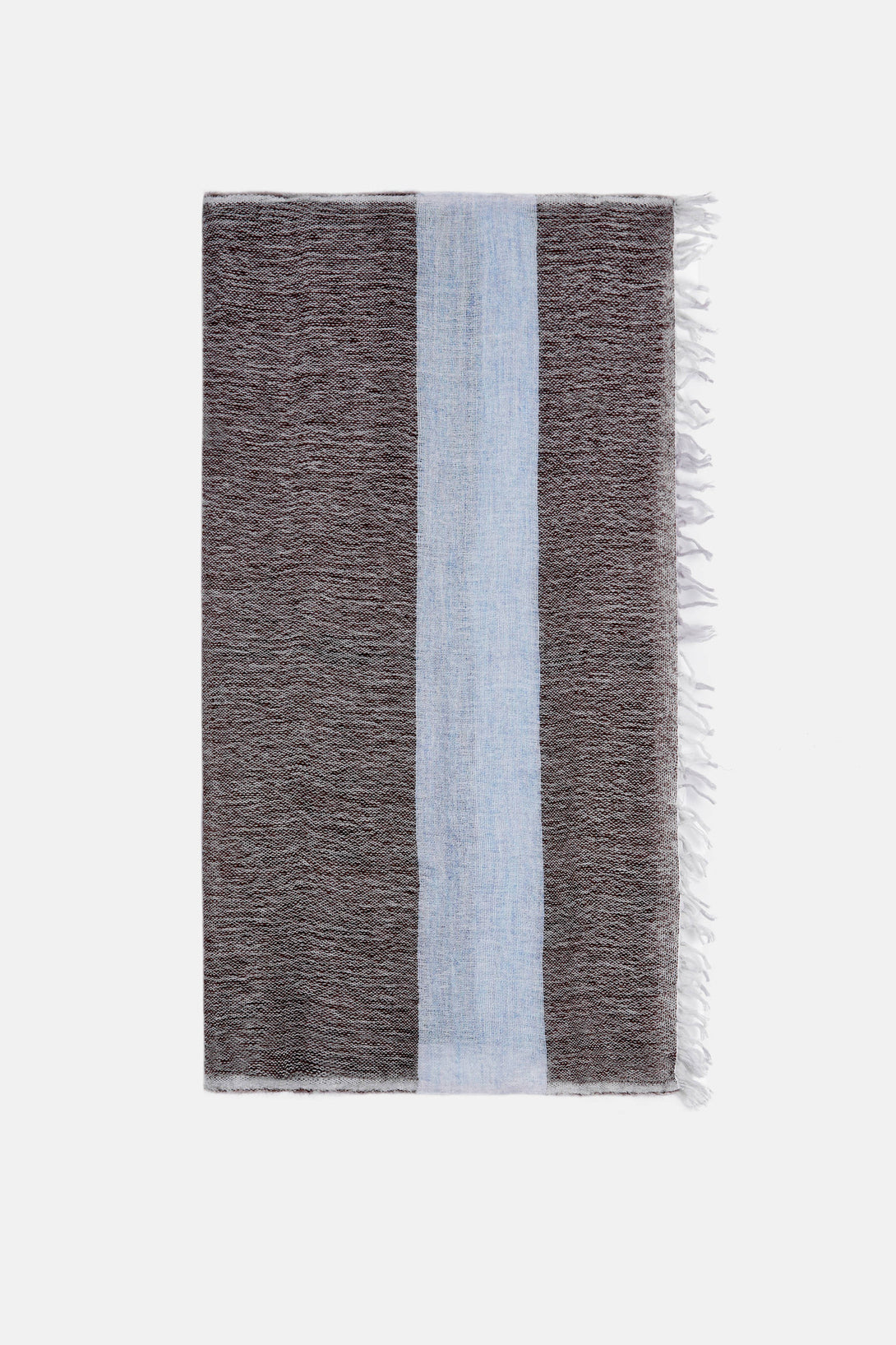 Tebiki Mohair Square Scarf - Earth