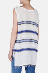 Addis Sleeveless Cover-Up - Blue