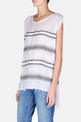 Addis Sleeveless Cover-Up - White