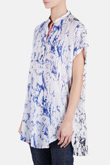 Hana Shirtdress - Blue