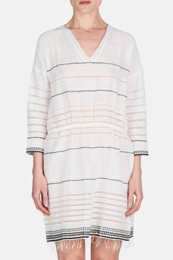 Almaz Easy Dress - White