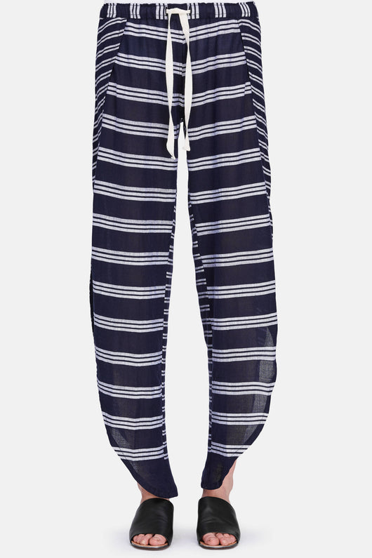 Edna Fly Away Pant - Navy