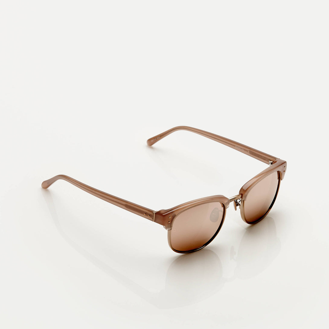 Chunky Squared Club-Master - Mink w/Rose Gold Lens