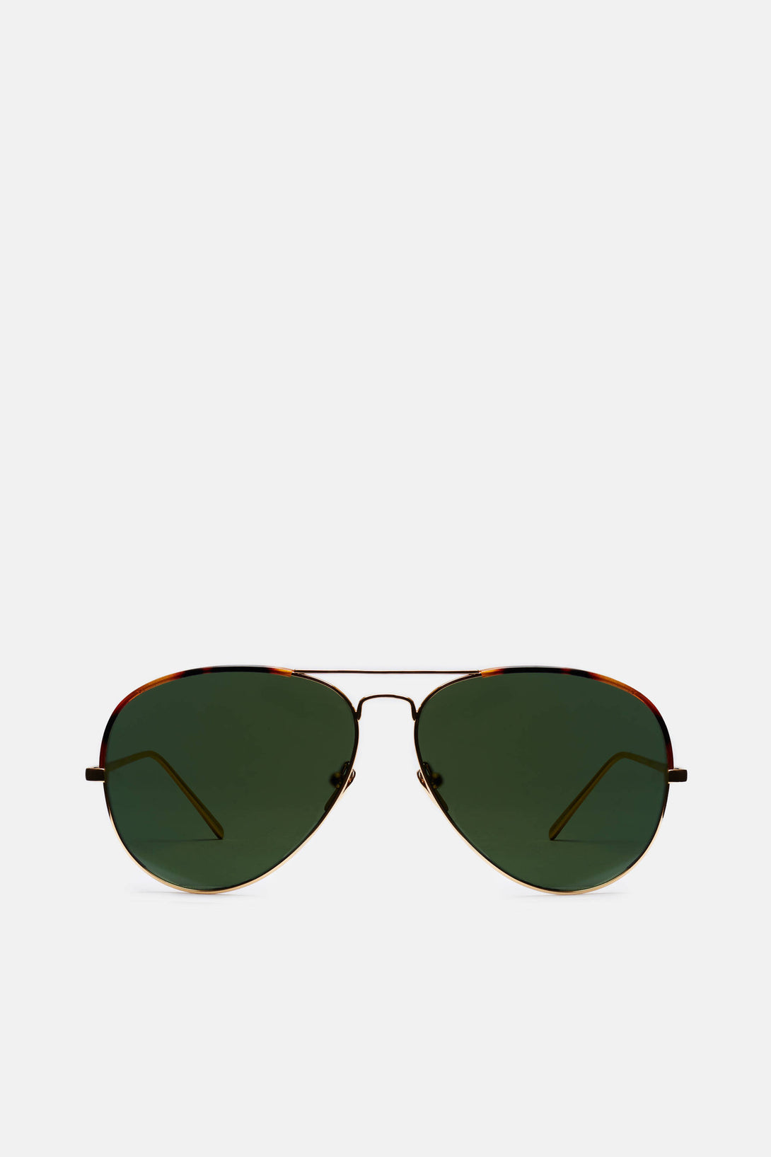 Windsor Rim Aviators - Yellow Gold
