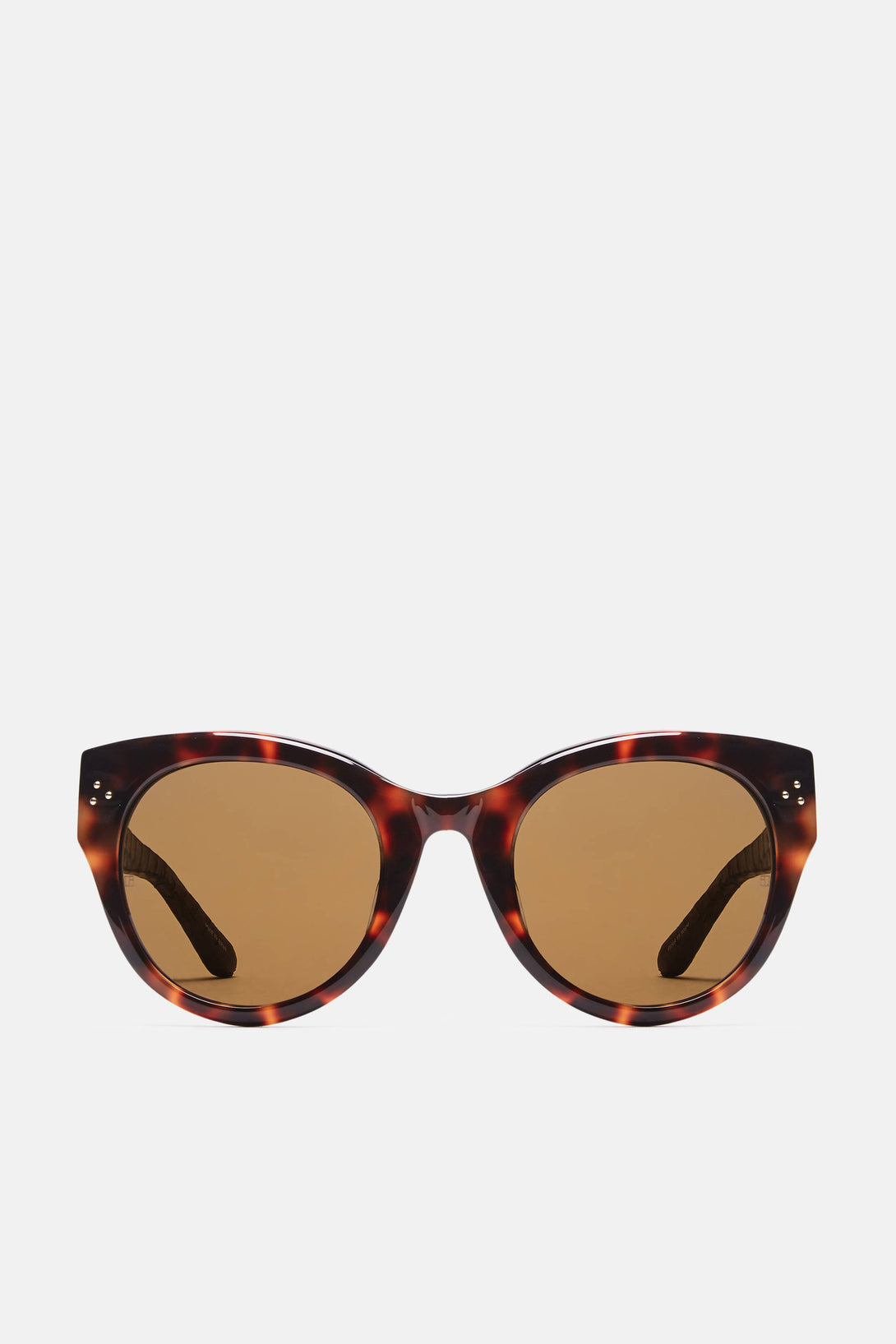 Cat Eye Sunglasses - T-Shell/Aubergine Snake