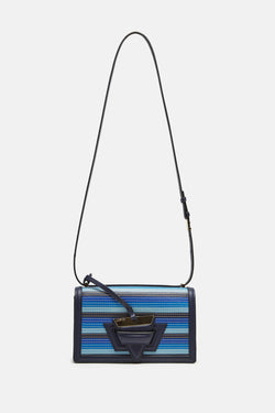 Barcelona Stitches Bag - Blue Multitone/Marine