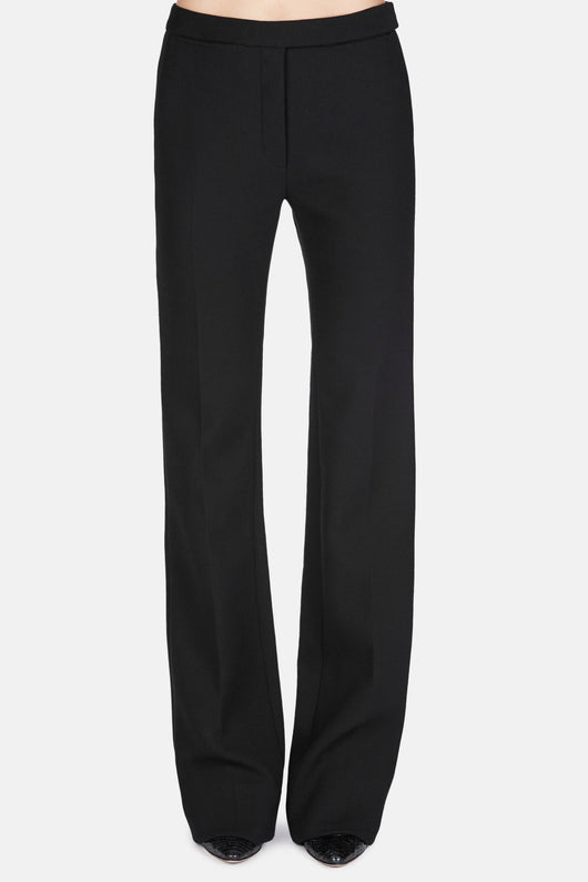 Trouser 23 Lean Flare Trousers - Jet Black