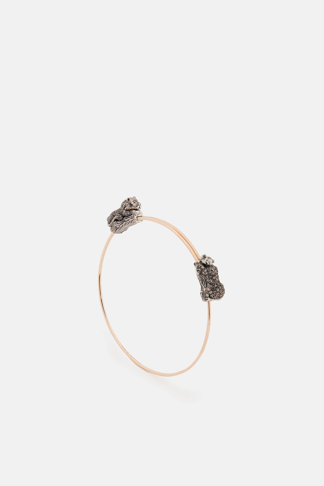 Lion and Panther Bangle