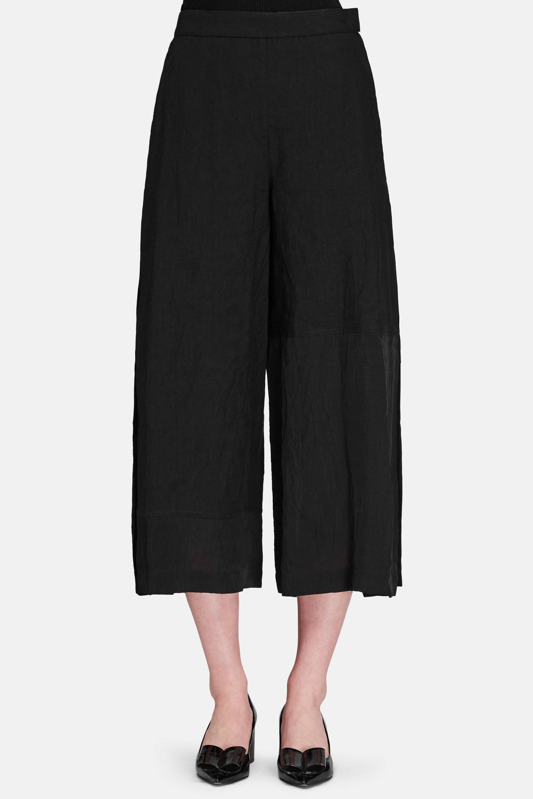 Culotte Trousers - Black
