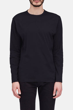 Long Sleeve Classic Crew - Black