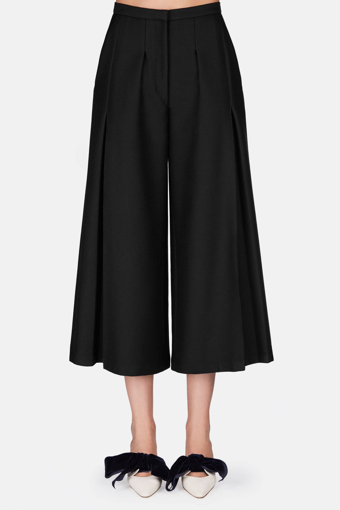 Louise Wide Leg Pant - Black