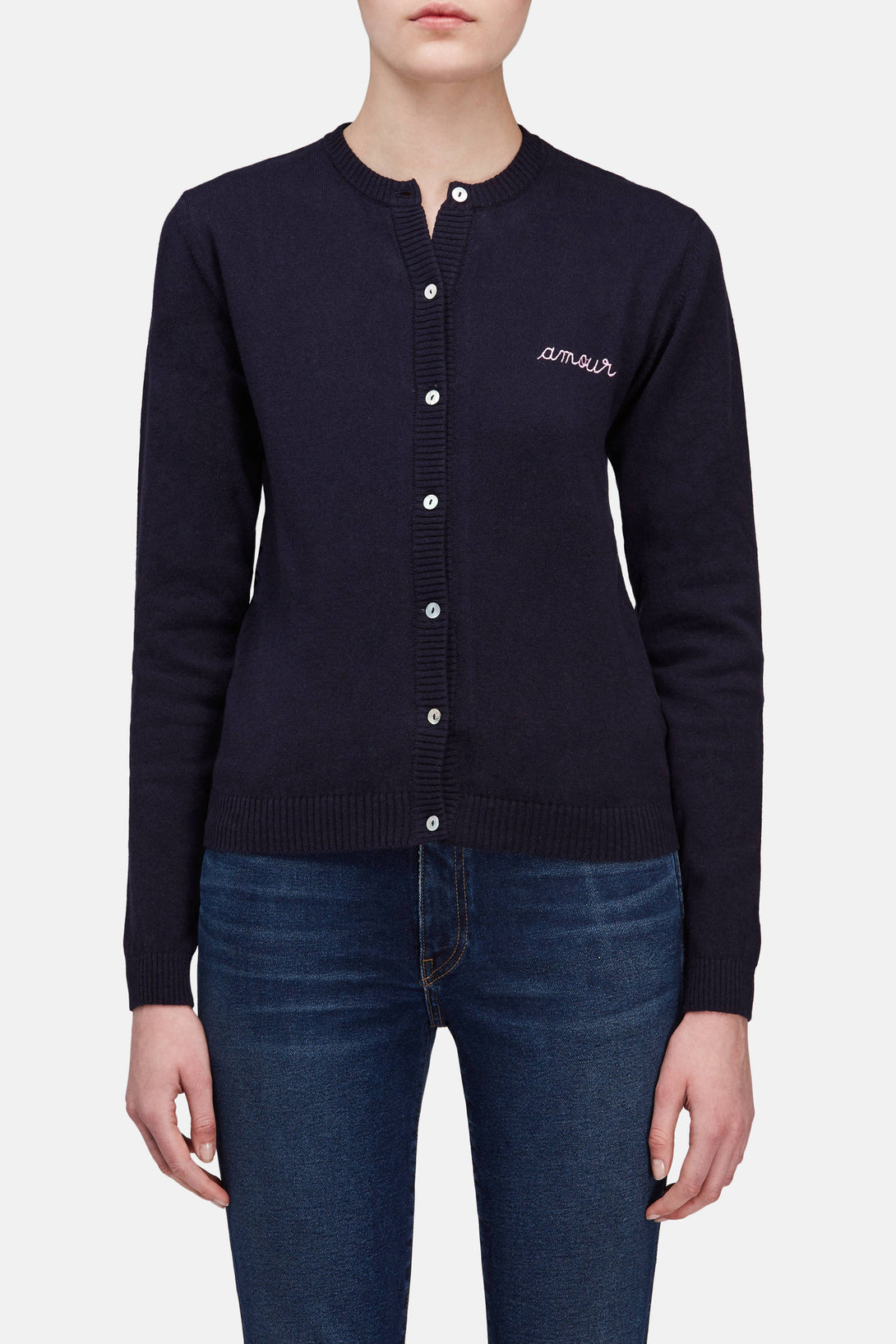 Amour Cardigan - Navy