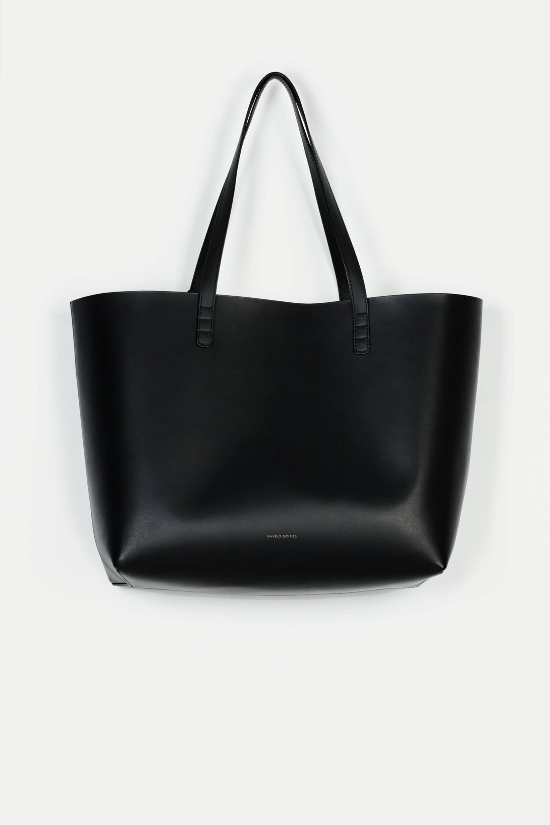 Large Tote Coated Interior - Black/Ballerina
