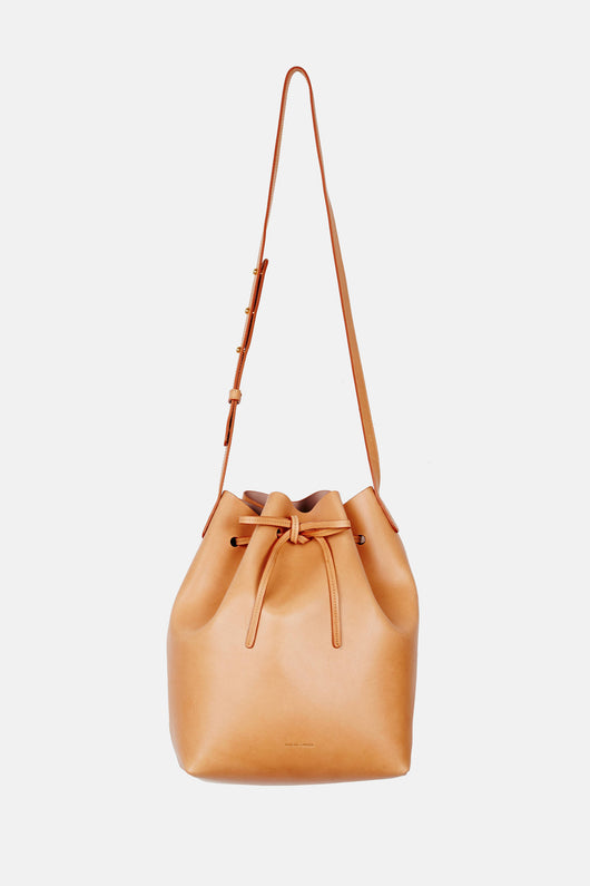 Bucket Bag Coated Interior - Cammello/Antico