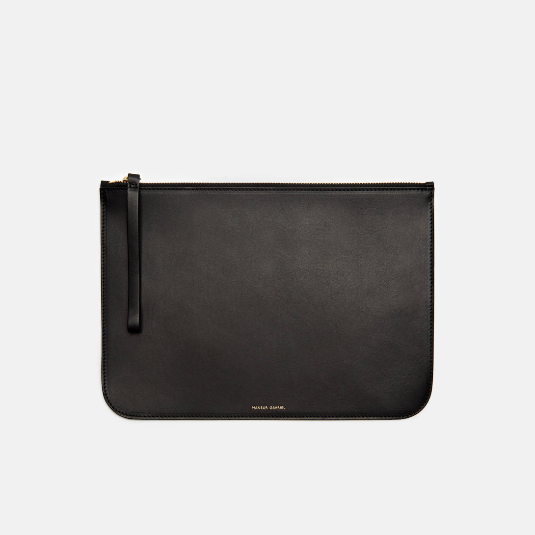 Large Wallet Coated Interior - Black/Blu