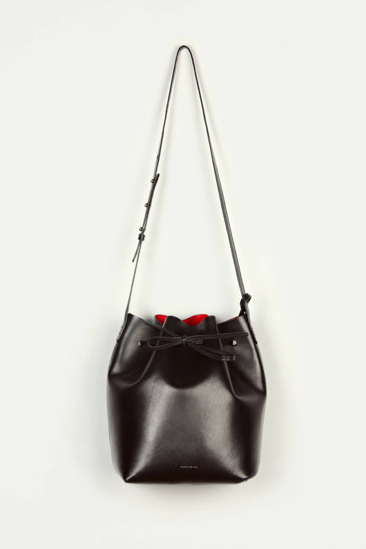 Bucket Bag Coated Interior - Black/Flamma