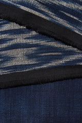Mundre Scarf - Bicolor Diamond Navy