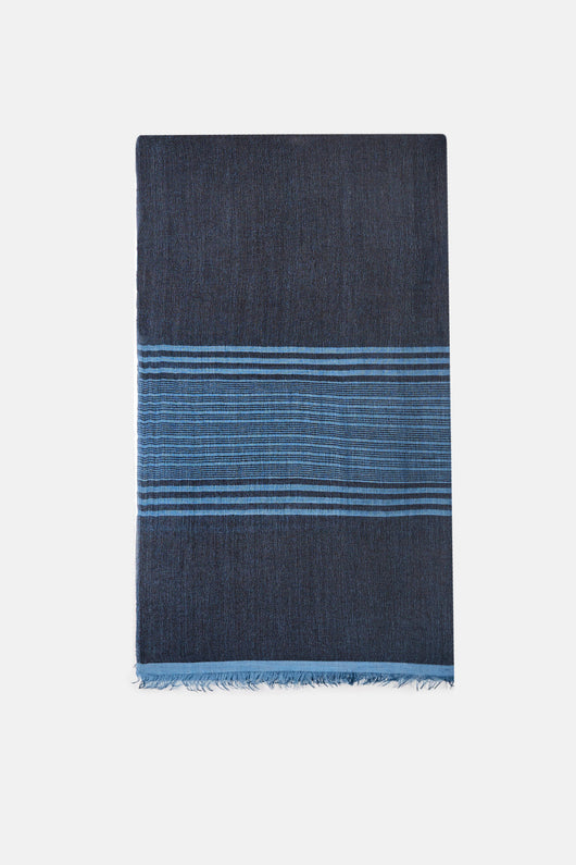 Manang Striped - Oily Blue