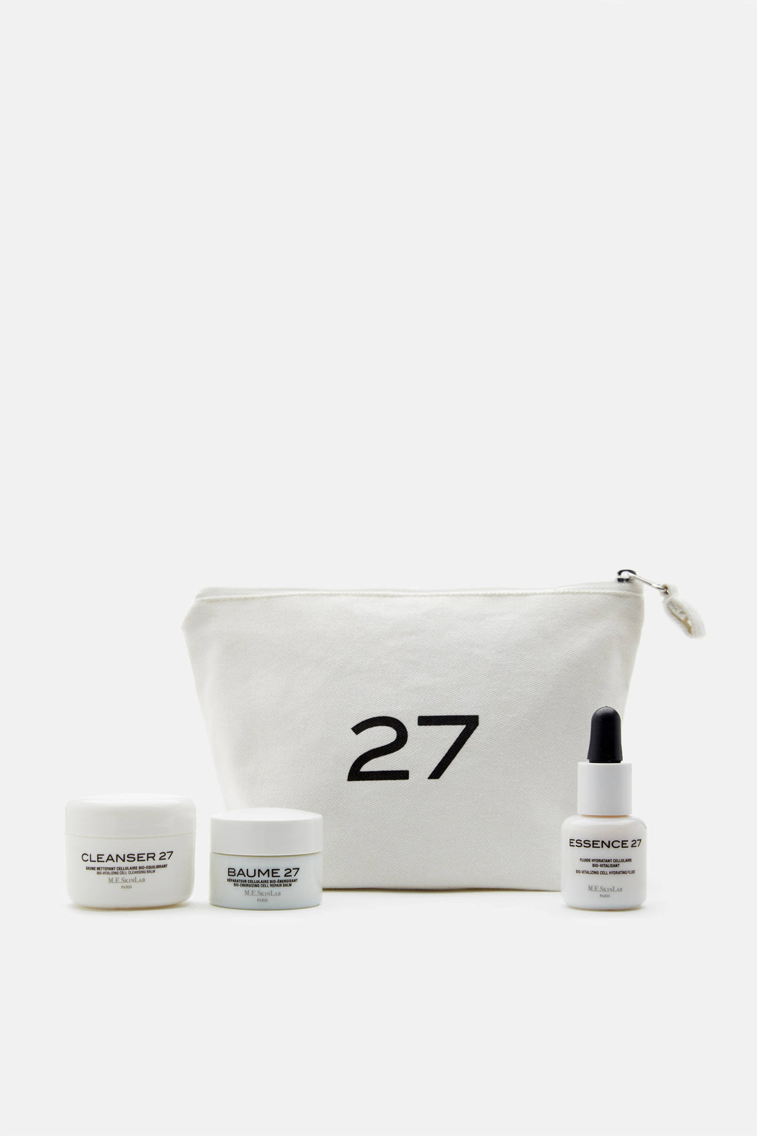Travel Set - Baume 27, Cleanser 27, Essence 27