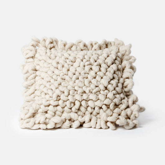Palomita Floor Pillow - Cream