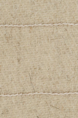 Stella Lines Square Embroidered Blanket - Cream/Cream