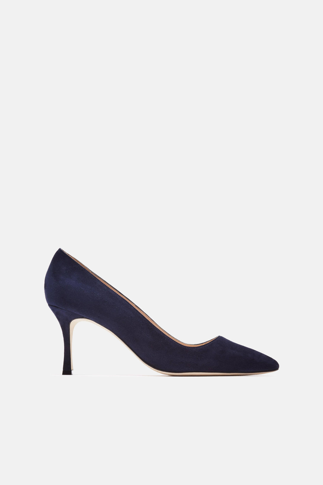 BB 70mm Pump - Navy Suede