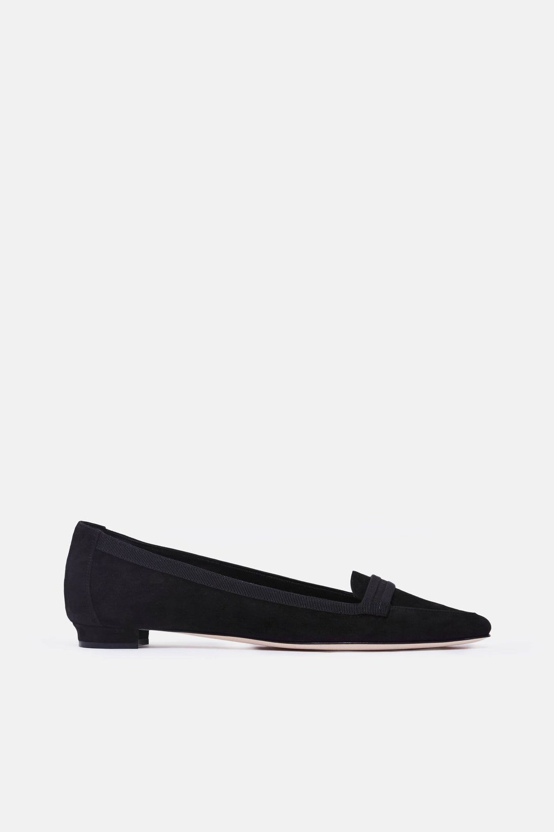 Salute Loafer - Black Suede