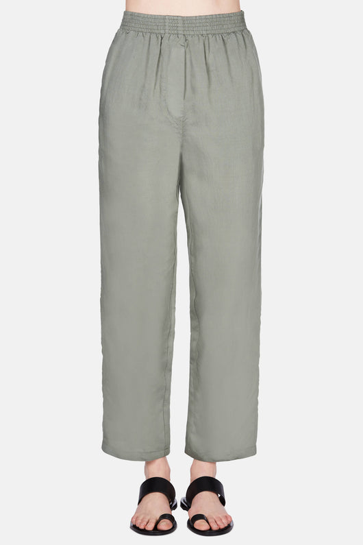 Light Fluid Pull-On Pant - Lake Green