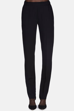 Classic Pull On Trouser - Black