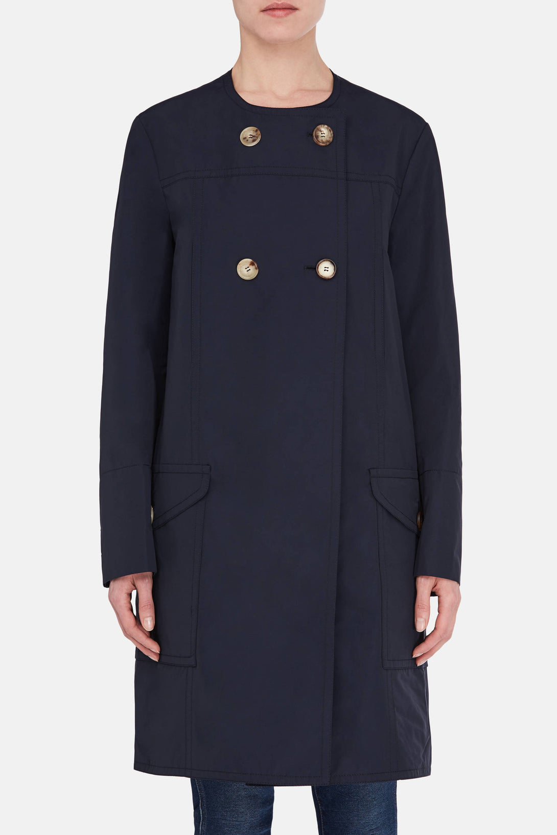 Duster Coat - Blublack