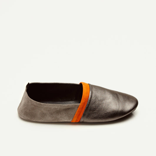 Alice Split Sole - Gunmetal/Sand/Orange