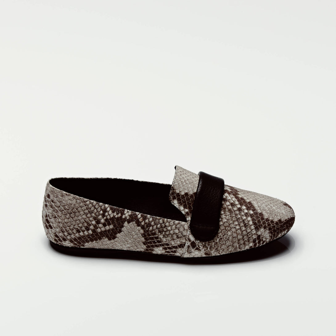 Josephine Loafer - Snake/Black