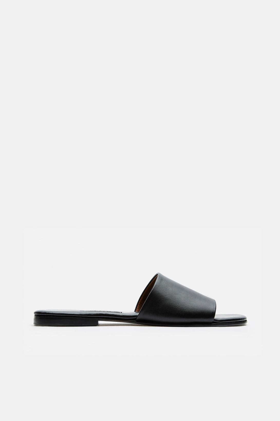 Roma II Sandal Smooth Calf - Black