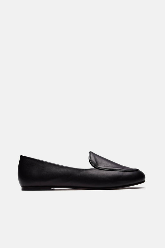 Liza Loafer - Black Calf