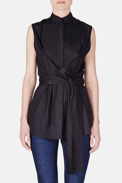 Wrap Shirt - Black