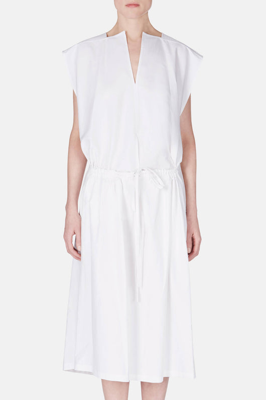 Open Waist Dress - Off White