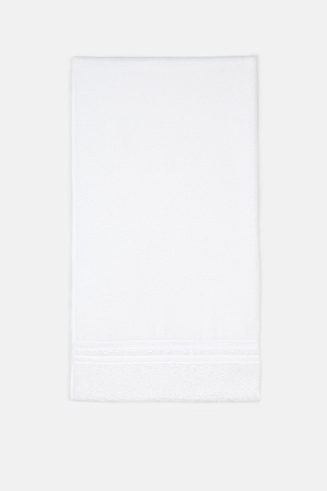 Lido Terry Cloth Bath Towel - White