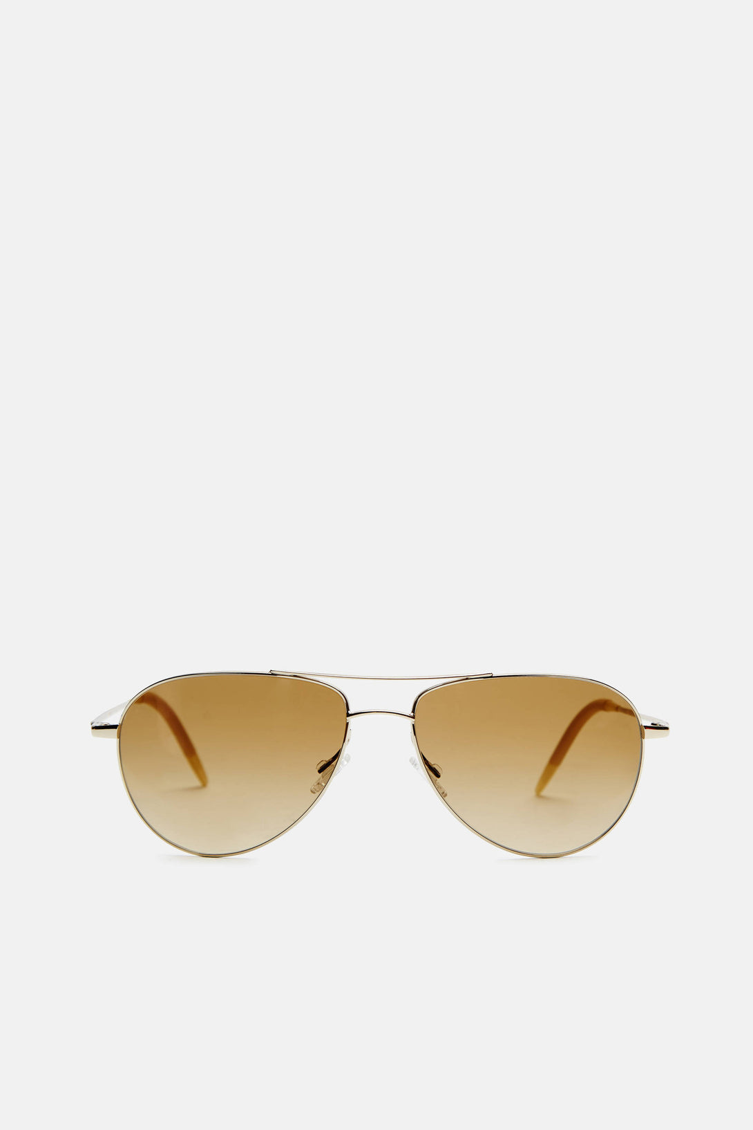 Benedict - Gold with Chrome Amber Photochromic VFX Lens